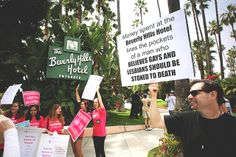Beverly Hills just became the latest battleground for LGBT and women's rights. Here's why.