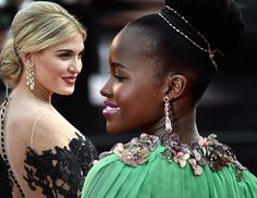 Hair and Makeup Inspirations from Cannes Film Festival 2015  #hair #hairstyles #makeup