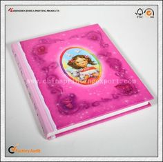 Cheap Hardcover Full Color Round Princess Children Book In Art Paper Book…