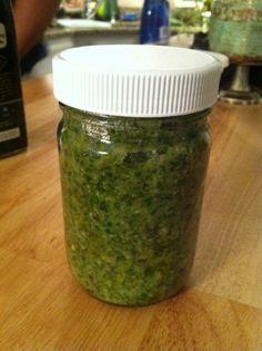 Best Easy Pesto Recipe – Fabio Viviani - because his recipes have yet to let me down.
