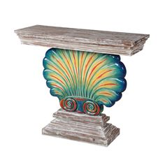 Shoreline Shell Console Table by Gail's Accents - Home Gallery Stores