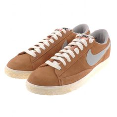 Nike Blazer Low PRM Vintage Trainers Dusted Clay