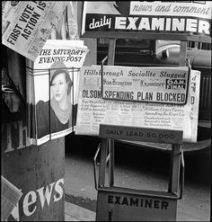 San Francisco, California - After forty-four years of Republican administration, California gets a Democratic administration __ Dorothea Lange  photographer  __  Library of Congress Prints