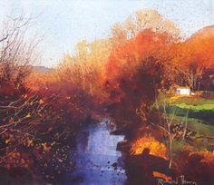 In the Crimson Light of Afternoon - Richard Thorn - mixed media