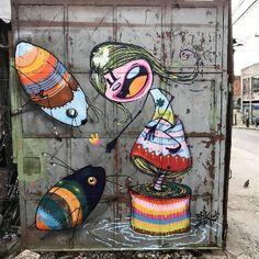 STREET ART - FUNNY CUTE (StraatKunst)