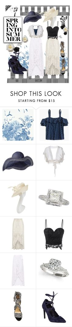"""""""For a mood - or not"""" by mary-kay-de-jesus ❤ liked on Polyvore featuring Designers Guild, J.Crew, Philosophy di Alberta Ferretti, Philip Treacy, River Island, Miguelina, Allurez, Raye and Jeffrey Campbell"""