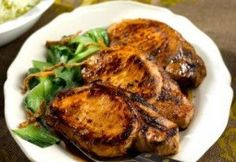 soy Braised Pork Chops