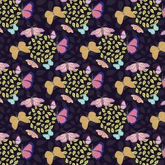 My lovely butterflies today design as fabric for the latest @spoonflower contest. Although there are over 500 entries takes awhile to find my design to vote for  but I think its good practice to design on prompts! Onward! #surfacepatterndesign #printandpattern #design #art #repeatpattern #patterndesign #butterflies