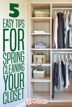 Keep these tips in mind when you're spring cleaning your closet so that your wardrobe stays current with pieces that are practical, stylish and meet your fashion needs.