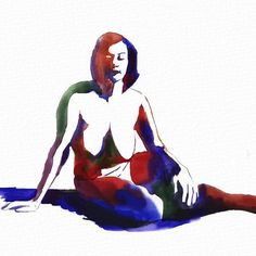 https://flic.kr/p/uSZd2u | By Hugo Wester created on iPad using Auryn Ink <#aurynink #auryninkapp #watercolor #digitalwatercolor