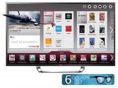"""Smart TV LED 4K Ultra HD 3D 84"""" LG 84LA9800 - Conversor Integrado DTV 3 HDMI 3 USB Wi-Fi"""