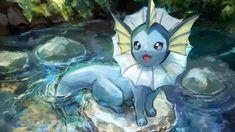 Vaporeon The Little Mermaid Pokemon Pokemon Team, Kyogre Pokemon, Pokemon Cards, Pokemon Fusion, Fanart Pokemon, Pokemon Tattoo, Pokemon Comics, Pokemon Funny, Evoluções Eevee