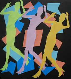 This is a great lesson for teaching about the principles of rhythm and movement in art. I found the lesson on the Mrs. Art Teacher blo...