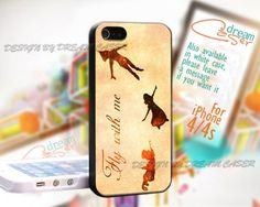 Disney Peter Pan Flying -Print On Hard Case iPhone 4/4S Case
