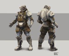 Future Soldier Concept, László Hackl on ArtStation at https://www.artstation.com/artwork/XbLAy