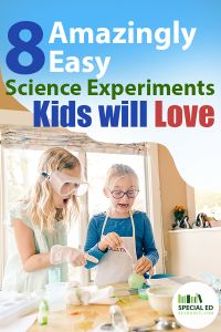 Looking for fun but easy learning activities to do with your child over winter break (or summer break) that will advance their problem-solving skills? Check out these 8 Amazingly Easy Science Experiments. Teaching Science, Teaching Kids, Kids Learning, Outdoor Activities For Kids, Learning Activities, Creative Activities, Stem Activities, Easy Science Experiments, Problem Solving Skills
