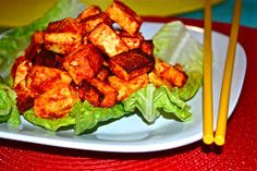 Baked Chili Lime Tofu