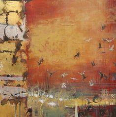 Sarah Goodnough - Celebrate Life Through Art: Birds in Flight Paintings