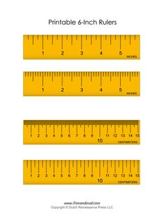 ruler measurement tools printable rulers 9 inches and 22 centimeters math for second grade. Black Bedroom Furniture Sets. Home Design Ideas