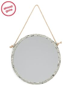 Round+Accent+Mirror+With+Rope