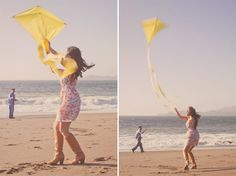When we go on our senior trip, I want to make a kite to fly on the beach! :]