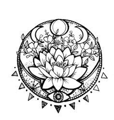 I do not know which is more I like – - diy tattoo project Dotwork Tattoo Mandala, Tatoo Henna, Lotus Tattoo, Diy Tattoo, Knot Tattoo, Wolf Tattoos, Body Art Tattoos, Tattoo Drawings, New Tattoos