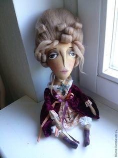"""Купить Текстильная куколка""""Анастасия"""" - разноцветный, Анастасия, мадам, 18 век, подарок, blume"""