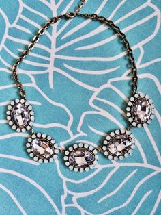Shoshanna Large Gem Statement Necklace