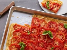 Tomato Cheese Tart : Recipes : Cooking Channel