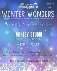 Herne Bay Musical Theatre Society's 'Winter Wonders' #hbmts #musicaltheatre #hernebay