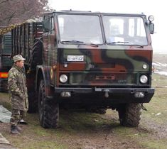 DAC 665T - Romanian Army