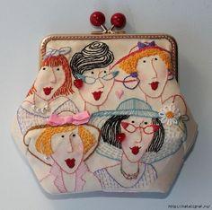 Старинные вышитые сумочки и кошельки. Обсуждение на LiveInternet - Российский Сервис Онлайн-Дневников