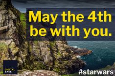 A nerd savvy 'May the 4th be with you' post for Facebook & Twitter. #DIGITALBASE #facebook #maythe4thbewithyou #starwars For Facebook, May, Starwars, Nerd, Social Media, Posts, Digital, Twitter, Messages