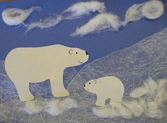 Today at storytime it was all about polar bears and other Arctic animals. Even though it is unseasonably warm and sunny outside, in the libr.