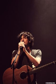 Gary Lightbody from Snow Patrol. My favorite singer in the entire world (and future husband).