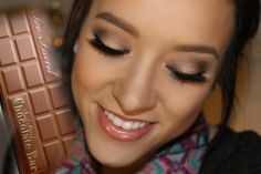 Spotlight Look   TooFaced Semi-Sweet Palette tutorial   BeautybyBrett1