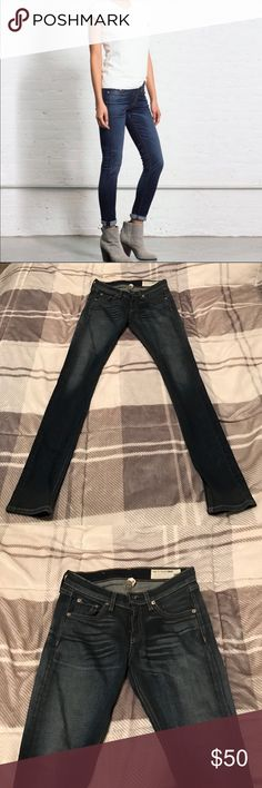 Rag & Bone Skinny Jeans Rag & Bone skinny jeans, excellent condition! rag & bone Jeans Skinny