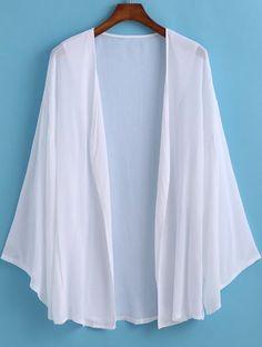 Kimono manga larga suelto-(Sheinside)