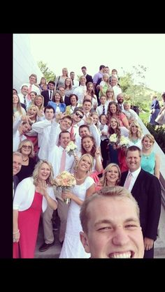 Wedding selfie.