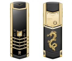 Nokia's luxury brand Vertu is celebrating the Chinese new year with a luxury dragon-themed mobile phone based on its Signature collection.    Each quad-band dragon phone comes in stainless steel with emeralds, black steel with Rubies, or gold with diamonds.    The handsets cost about $20,800 ; buyers get a leather case, a charging base, and one year of Vertu Concierge service free