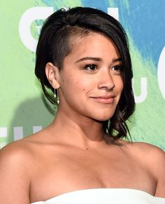 "After her diagnosis, the ""Jane the Virgin"" star learned to shut down her inner critic. Short Hairstyles For Thick Hair, Haircut For Thick Hair, Medium Short Hair, Very Short Hair, Short Straight Hair, Short Hair With Layers, Short Hair Updo, Short Hair Cuts For Women, Medium Hair Styles"