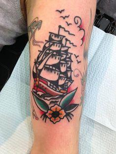 Tattoo done by Fabian at 13 Needles Tattoo Studio 2014