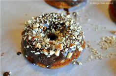 Chocolate Chip Doughnuts with Chocolate Glaze (Grain Free)