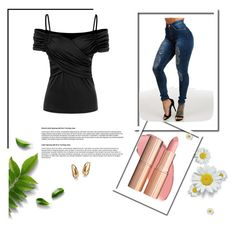 """""""Bez naslova #26"""" by amel-367 ❤ liked on Polyvore featuring Palm Beach Jewelry"""