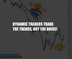 Dynamic #Traders ignore short term moves and focus on long term trends.