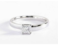 0.49 Carat Diamond Low Dome Comfort Fit Solitaire Engagement Ring | Recently Purchased | Blue Nile