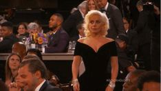 DID YOU SEE THAT? | Leonardo DiCaprio's Face When Lady Gaga Walked By Him To Accept Her Award Is Everything