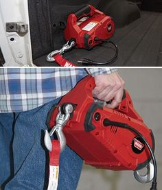 The Warn PullzAll is an electric pulling tool that replaces come-a-longs and chain falls. Now you can get the job done faster, with. Camping Tools, Camping Gear, Camping Equipment, Cool Tools, Diy Tools, Ideal Tools, Hand Tools, Power Winch, Welding Training