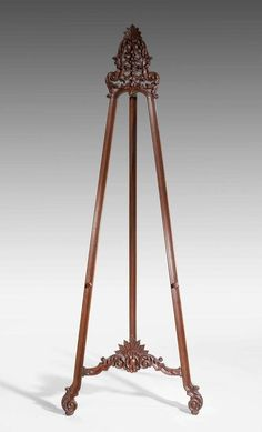 Mid-19th Century Mahogany Easel | From a unique collection of antique and modern…
