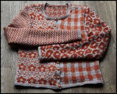 Many Fair isles cardigan